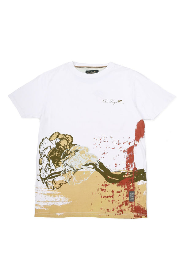 Vince | Men's Short Sleeve Crew-neck Graphic T-shirt