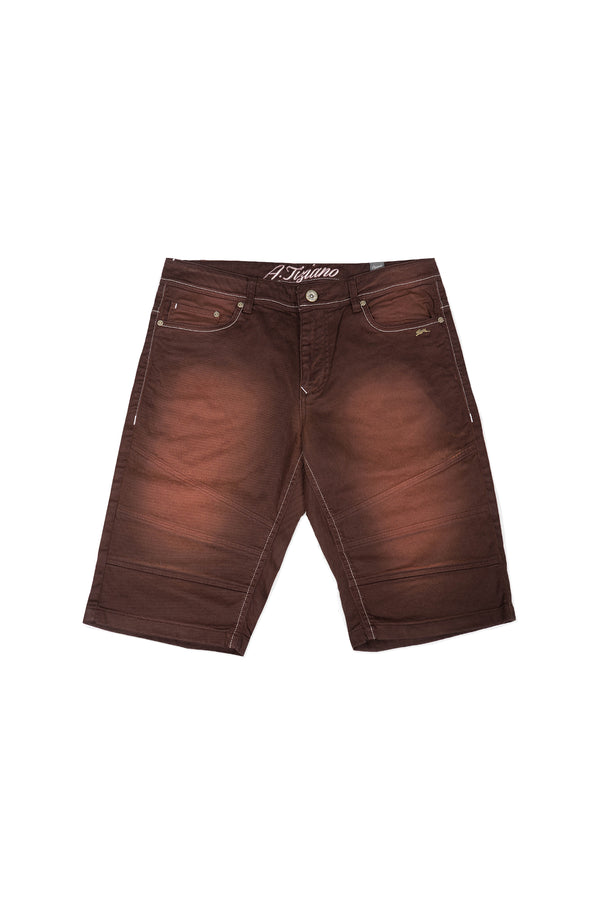 Greg | Men's Twill Short with Sanding