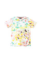 Wilt | Men's Short Sleeve Knit Crew Neck With Splatter Print