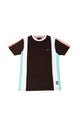 Mike | Men's Short Sleeve Crew Neck Color Block T-Shirt