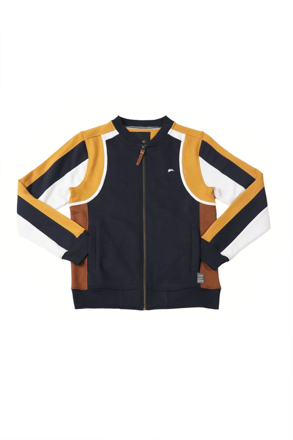 Mark | Men's Color Block Fleece Track Jacket