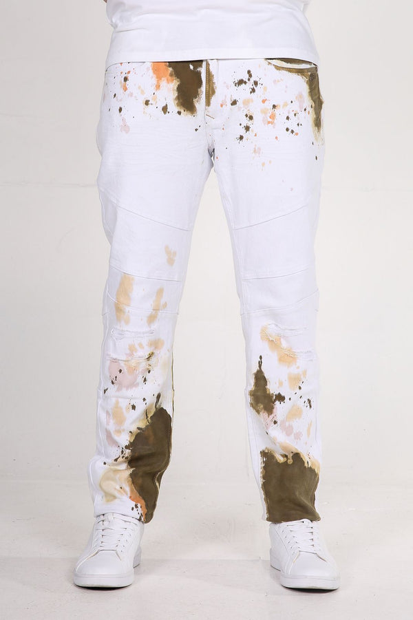 Andy | Men's Printed Twill Jean