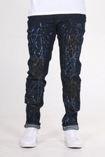 Richard | Men's Antiqued Denim Jean