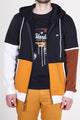 Rusty | Men's French Terry Color Blocked Hoodie
