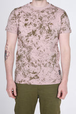 Ellis | Men's Short-sleeve V-neck Graphic T-Shirt