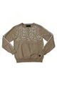 Jim | Men's Partial Camo Crew Neck Sweater