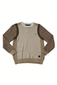 Dontell | Long Sleeve Color Blocked Sweater