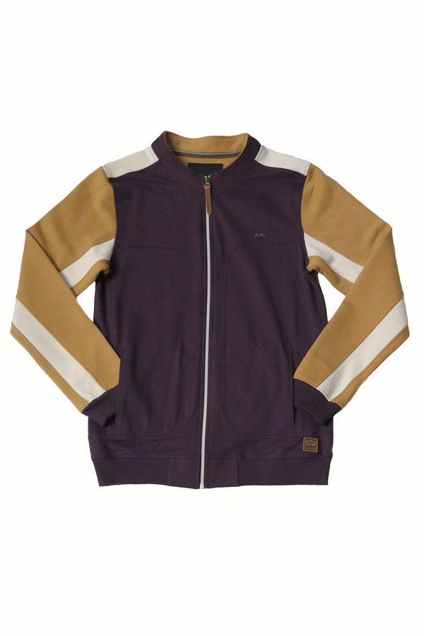 Hank | Men's Color Blocked Track Jacket