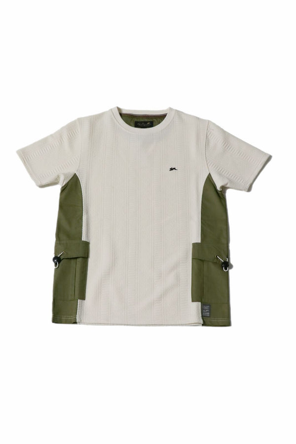 Luca | Men's Short Sleeve T-Shirt With Cargo Pockets