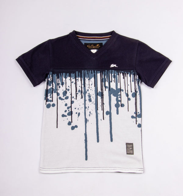 Denzel | Boys V-Neck Tee