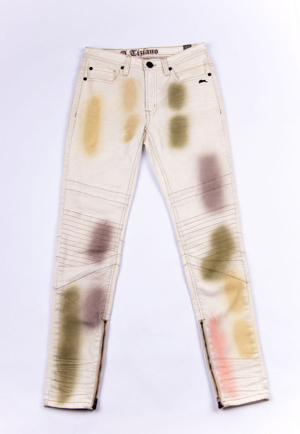 Carson | Women's Stained Twill Jean