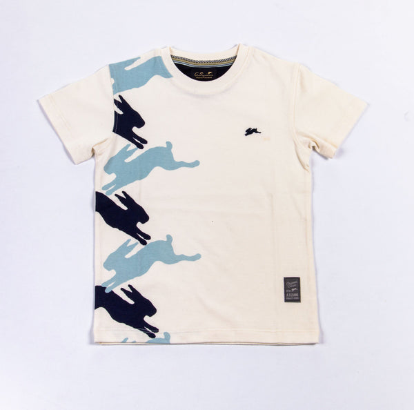 Cooper | Boys Crew Neck Graphic T-Shirt