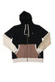 Rusty | Men's Long Sleeve Color Block Fleece Hoodie