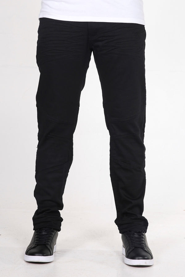 Duke | Men's Black Twill Jeans