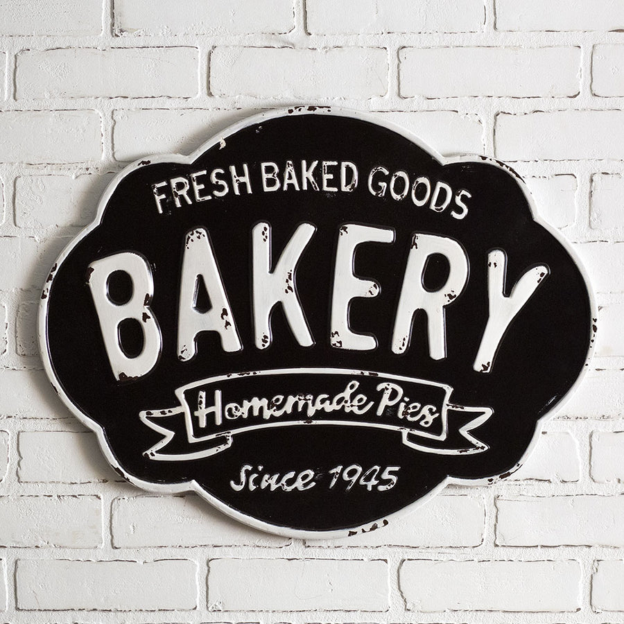 Bakery Metal Sign - Charming Wood Home
