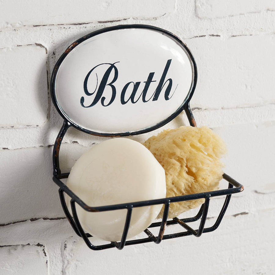 Bath Soap Holder - Charming Wood Home