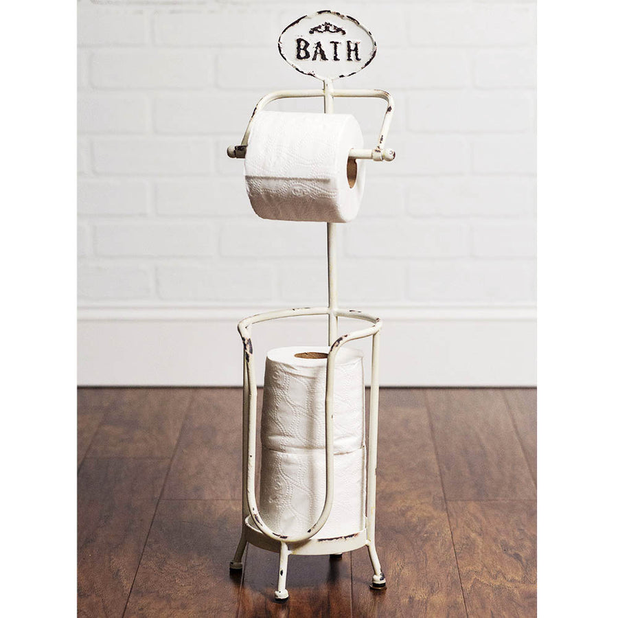 Bath Tissue Stand - Charming Wood Home