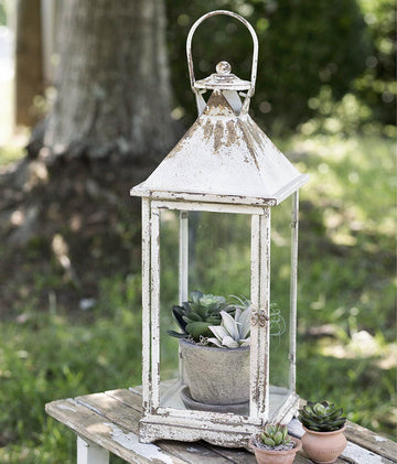 Emerson Lantern - Charming Wood Home