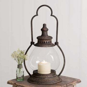 Small Steeple Lantern - Charming Wood Home