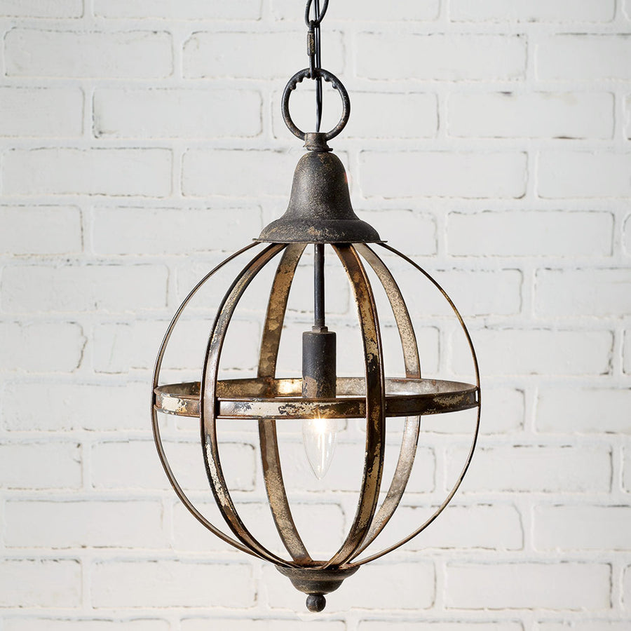 Sphere Pendant Light - Charming Wood Home