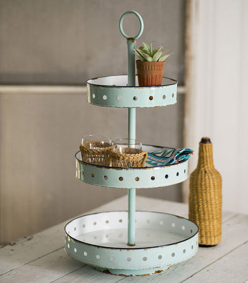 Three-Tier Maribelle Tray - Charming Wood Home