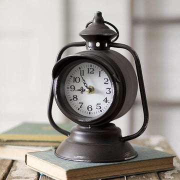Train Lantern Clock - Charming Wood Home