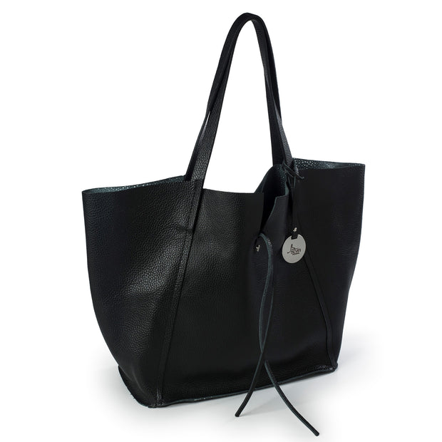 Dollaro & Razza Leather Reversible Tote (B175)