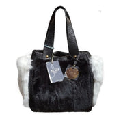 Three pockets Dollaro leather tote with Rex Trim (27005MXX)