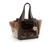 ONE & ONLY Three pockets Dollaro Leather Tote (280005)