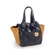 ONE & ONLY Three pockets New Forest Soft Leather Tote (28008M8)