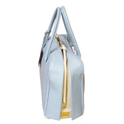 Movie Leather Double-Zipper Tote (27013M)