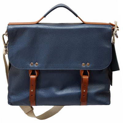 Men's ASSISI in Dollaro leather, Messenger Bag