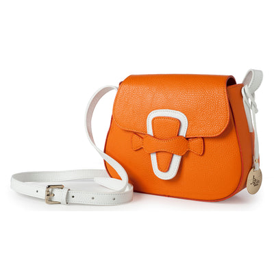 Sicilian Orange Shoulder Bag (B166)