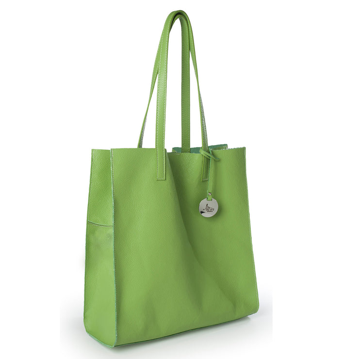 Shopper Leather Tote (B174)