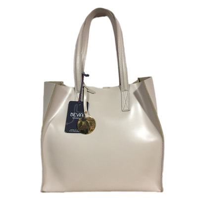 Pearl White Soave Leather  (B18BISX)