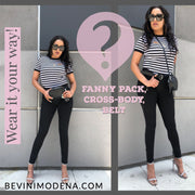 The Italian Way Fanny & Belt Pack (B232)