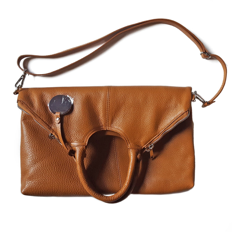 Dollaro Leather Foldable Clutch Bag (B239)