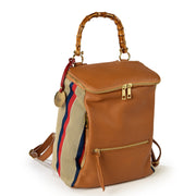 One & Only Sicily Dollaro Leather & Ermete Backpack (B242)