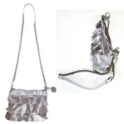 ONE & ONLY Silver Chain Cross-Body (B246)