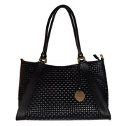ONE & ONLY Dollaro & Suede Leather Weaved Bag (B268)