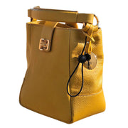 Dollaro Leather Bucket bag (B291)