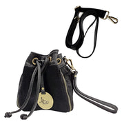 Mini Pouch Wristlet or Cross Body in Haircalf Leather (B301)