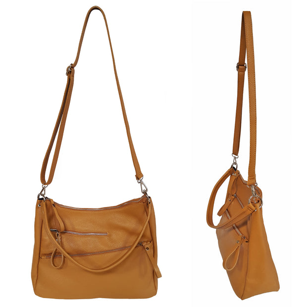 Fashion bag made of high quality Dollaro Leather (B309)
