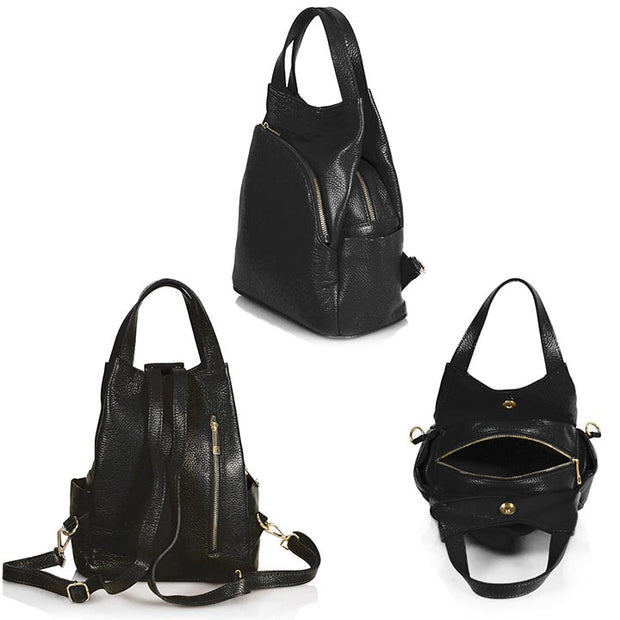 Gisele Leather Bag-pack (B334)