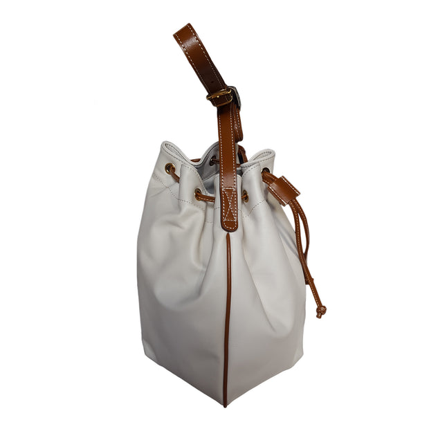 Movie Leather Medium Bucket Bag (B3)