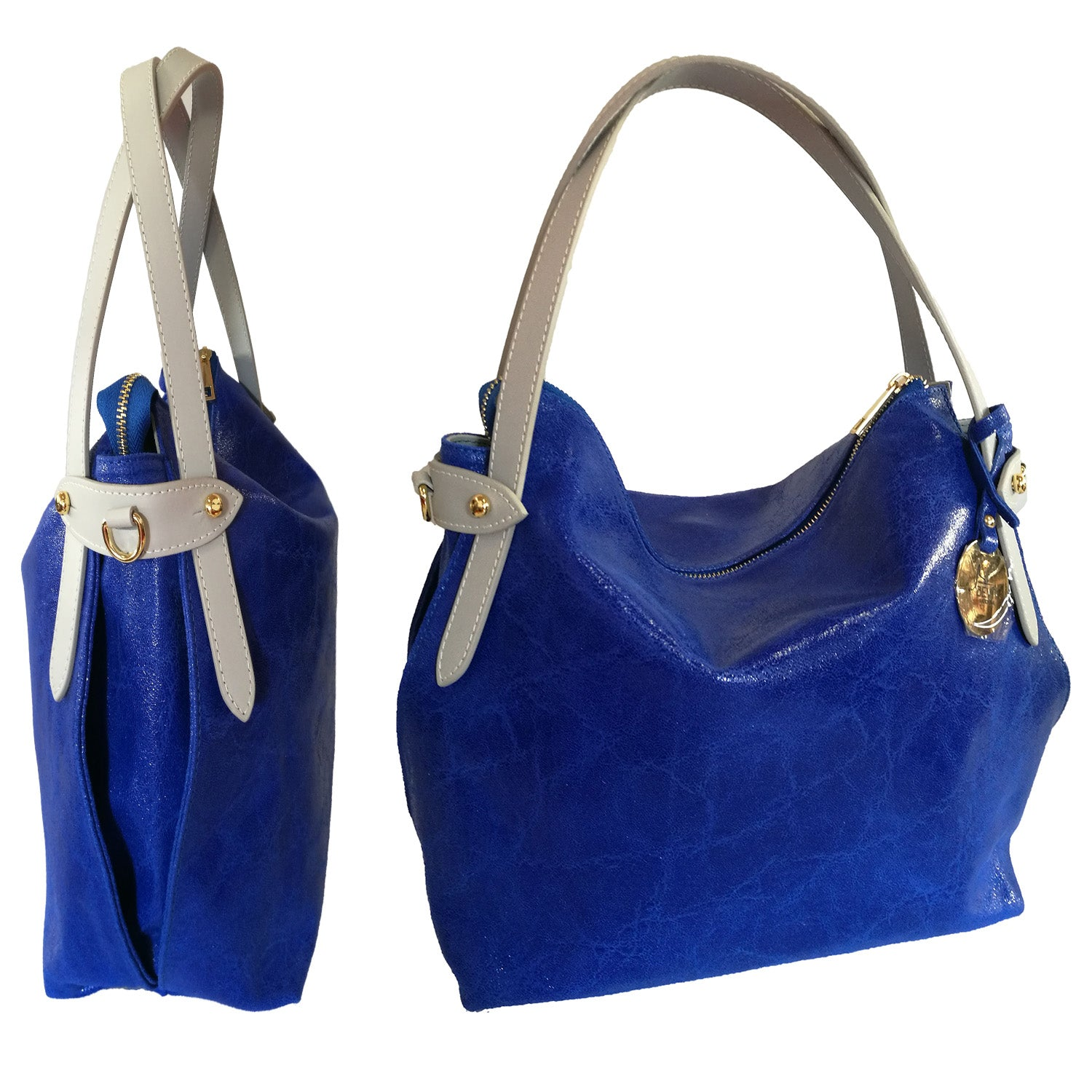 Small Leather Shoulder Bag (B60X)