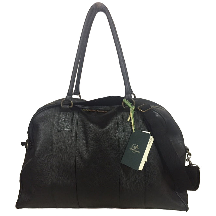 Men's Leather MILANO Traveler Bag