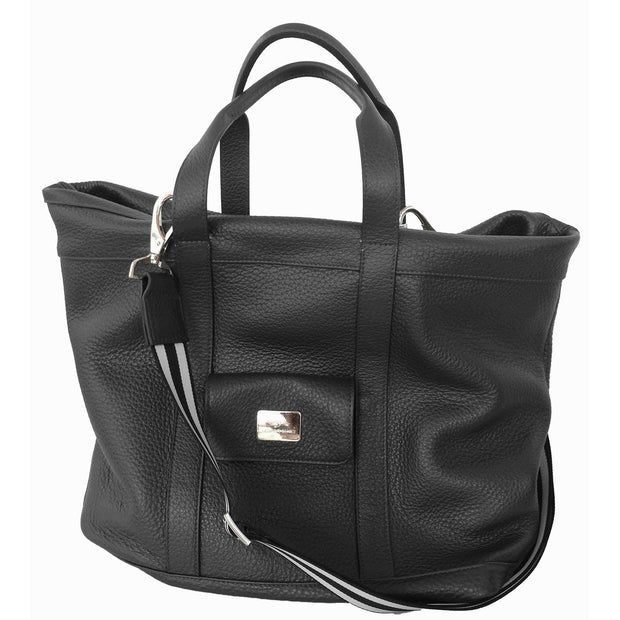 Men's Dollaro Bost Leather MONZA Traveler Bag
