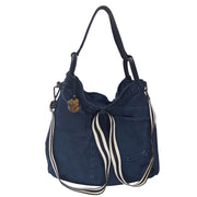Vintage Denim Leather Hobo (WA02)