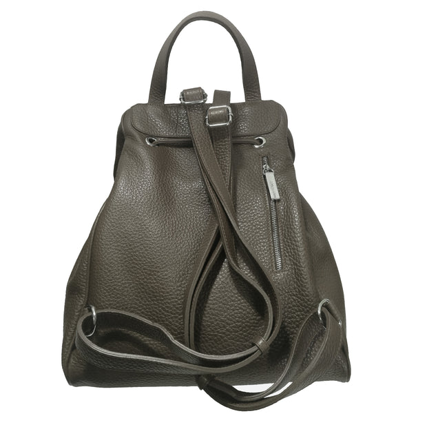 ALBA Italian Croc-Embossed Leather Backpack